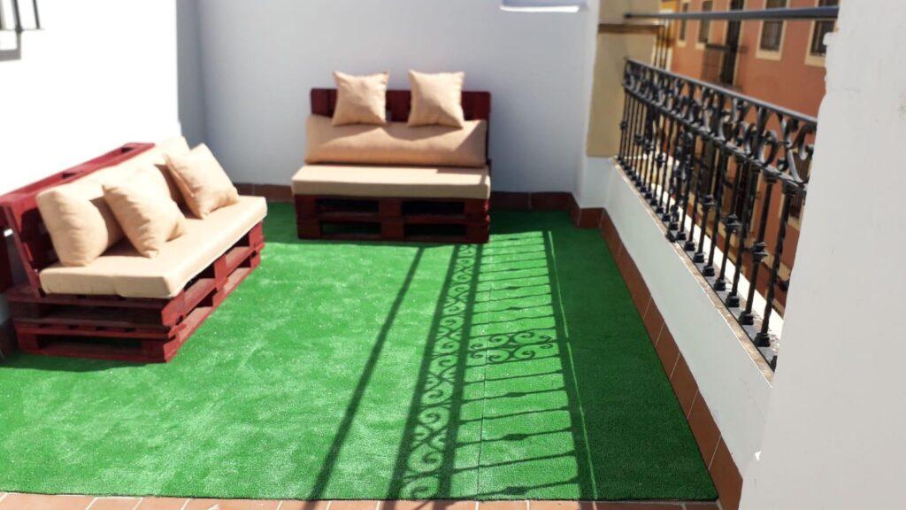 apartamentos doña concha terraza